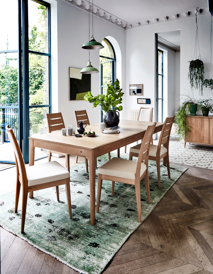 Ercol Romana dining table